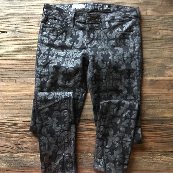 Ag Adriano Goldschmied Denim - AG | the Legging Super Skinny Printed Jean